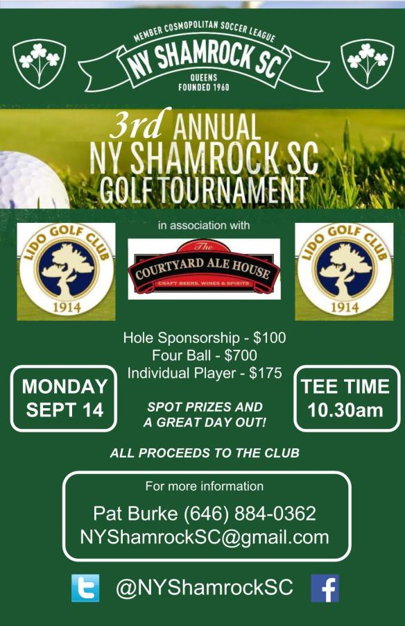 Shamrocks Golf Outing 2015