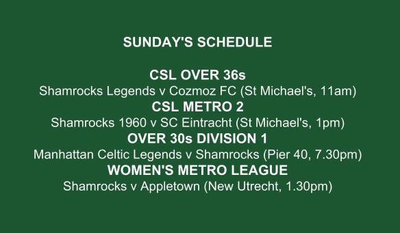 SHAMROCKS sunday schedule graphic (3)