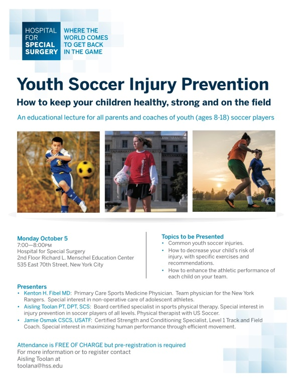 Youth Soccer Injury Prevention