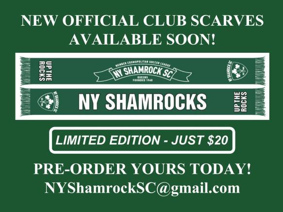shamrocks scarves 15-16
