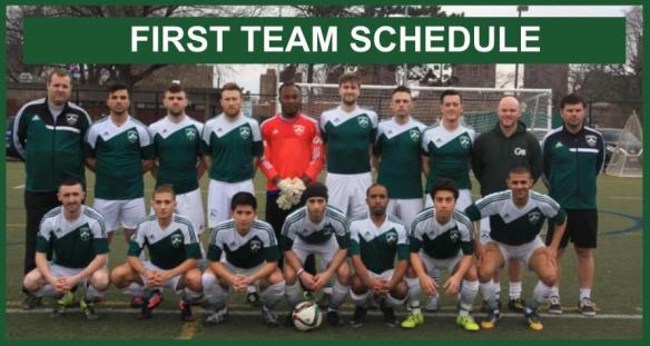 first team schedule photo