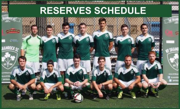Reserves schedule photo