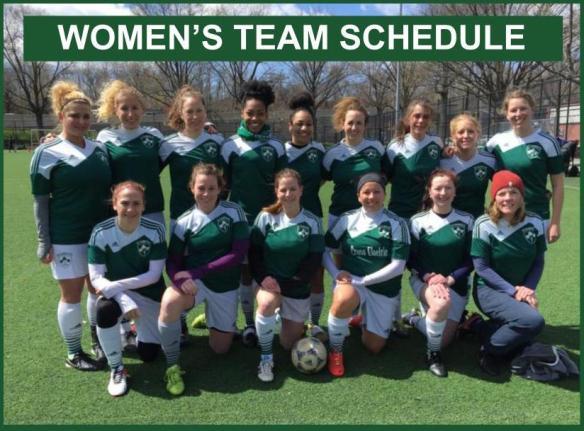 women's team schedule photo