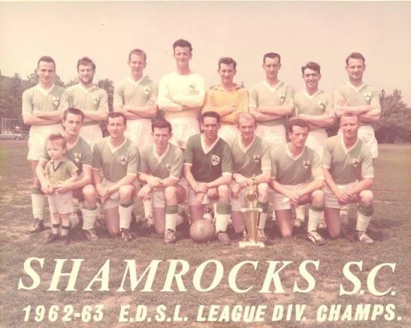 Shamrocks SC_1962-63 EDSL League Div Champs