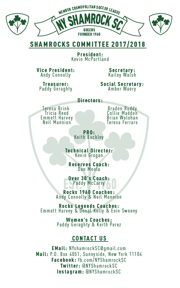shamrocks-committee 2017-2018-01