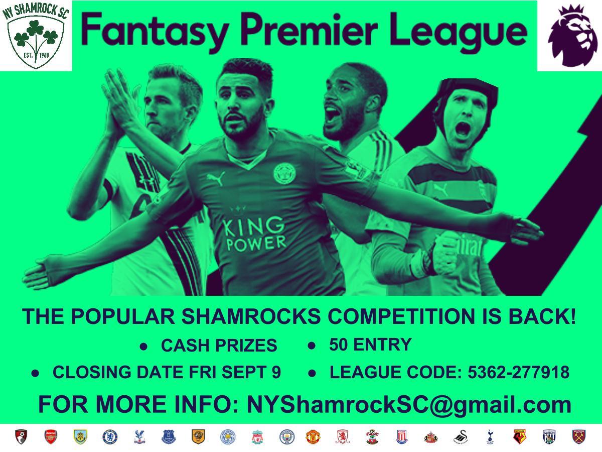 Click below and sign up today! | NY Shamrock SC