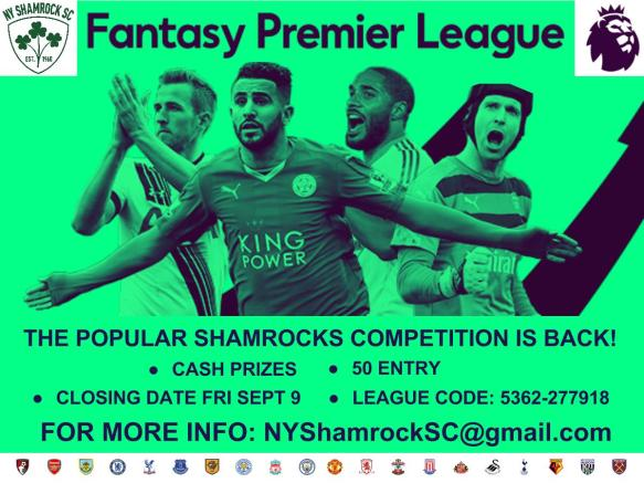 FACEBOOK shamrocks fantasy premier league 2016-17 (1)