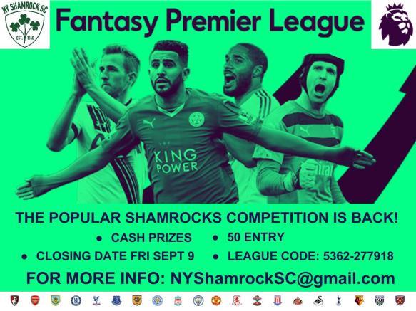 FACEBOOK shamrocks fantasy premier league 2016-17 (1)