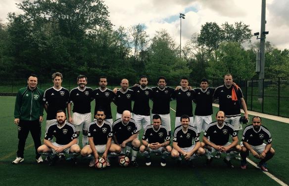 007 Over 30s team champions