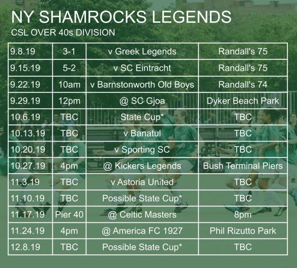 ROCKS SCHED 005 Legends 2019