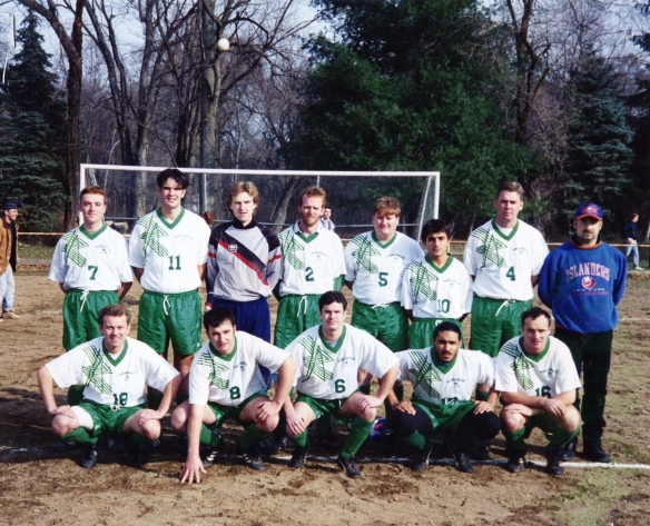Shamrocks v Sportsfriends 1993