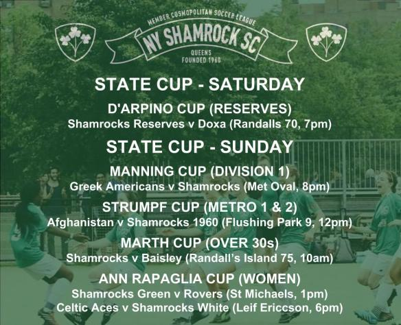 STATE CUP SCHEDULE - 2018_19