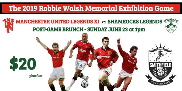 Robbie Walsh Game - Smithfield brunch
